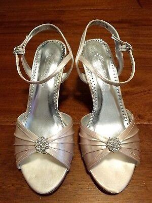 Michelangelo David S Bridal Eclaire Dyeable Wedding Shoes Women S