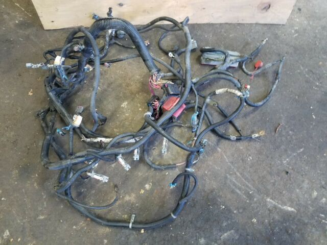 2002 only cadillac escalade lq9 engine wiring harness 6 0 ebay rh ebay com