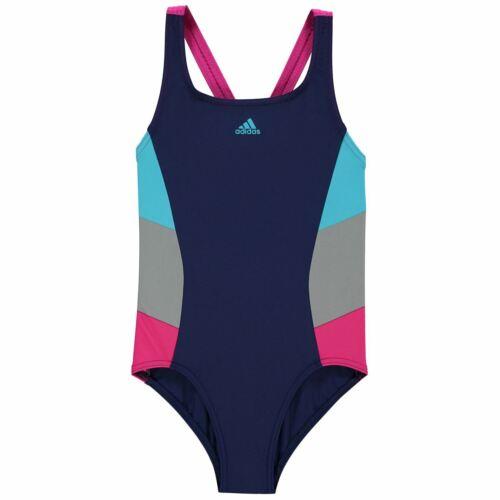 adidas Mädchen Fitness Kinder Badeanzug Einteiler Bademode Sommer Strand