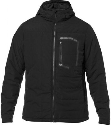 Fox Racing Podium Jacket Black Mens Winter Coat