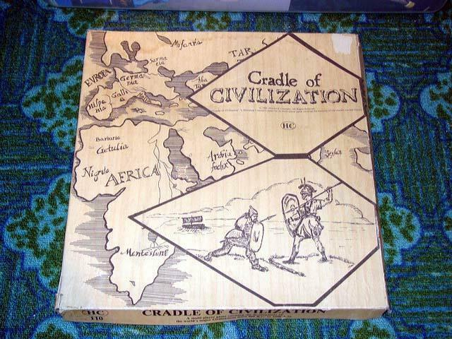 Cradle of CIVILIZATION Historical Concepts - HC - 1981 (UNPUNCHED) - RARE