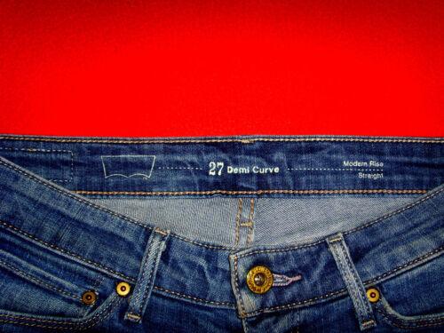 f73e00ea71fa W27 Skinny Stretch Top L30 Jeans Demi Röhrenjeans Neuw Straight Levi s  Curve ZHx0qXwI