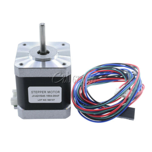 JK42HS48-1684 1.8 Degree 42mm 2A 12V NEMA17 2 Phase Hybird Stepper Motor