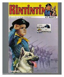 RINTINTIN N° 130  DE 1980 BE-