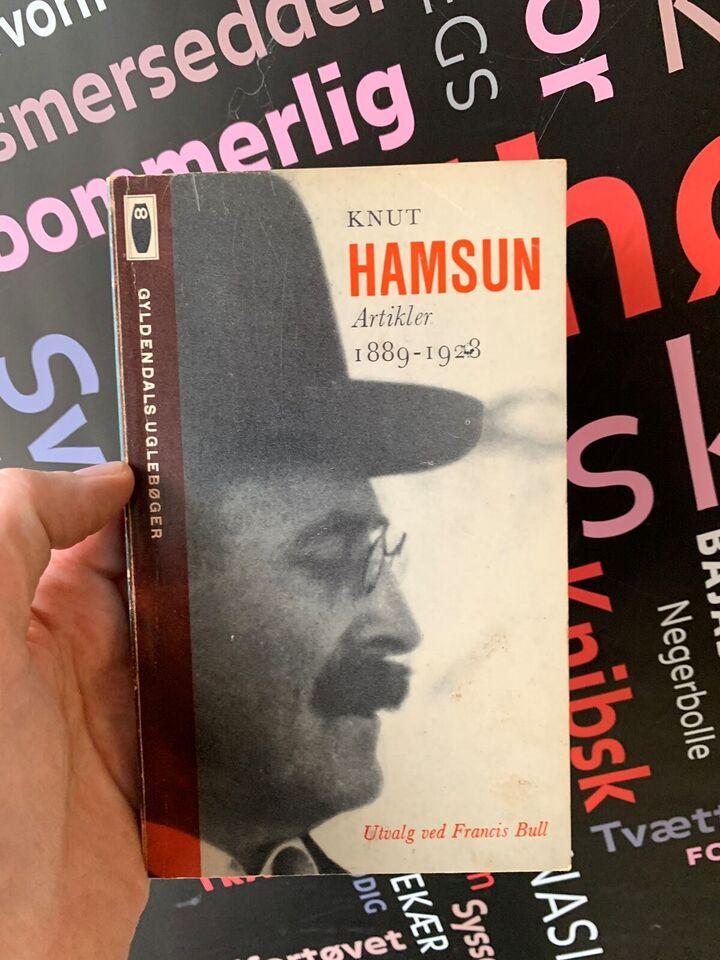 Artikler, Knut Hamsun, genre: anden kategori