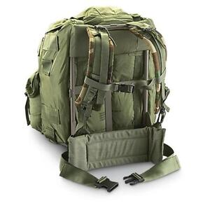 US Army ALICE LC-1 LARGE Field Pack OD Green w  Frame e8242a2cec4b