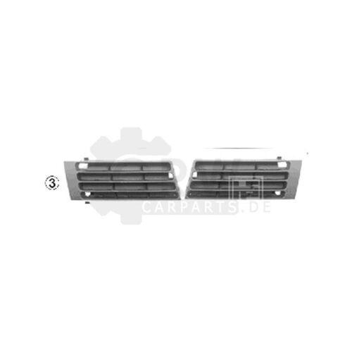 Bj B5 Lüftungsgitter Stoßfänger Stoßstange vorne links für Audi A4 01//99-10//00