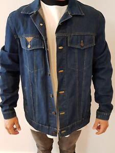 Denim Jacket Mens Size Small Ebay