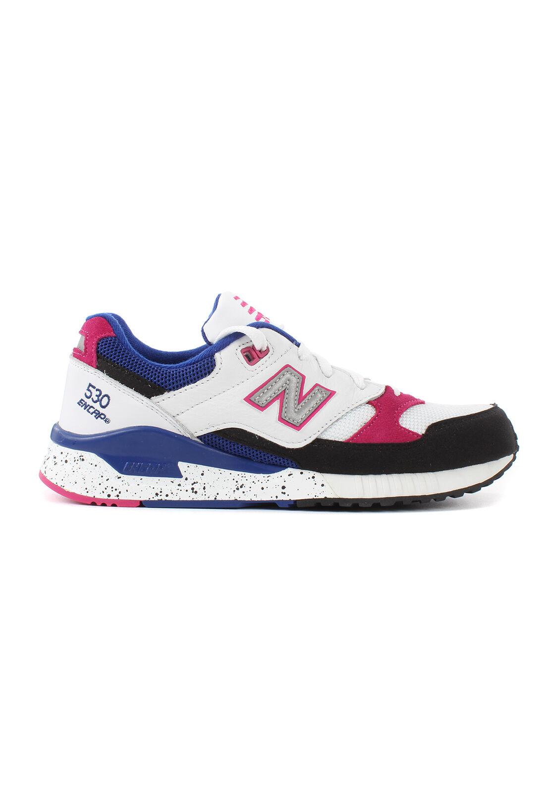 New Balance Women's Sneakers W530PSA Multicoloured White Pink bluee
