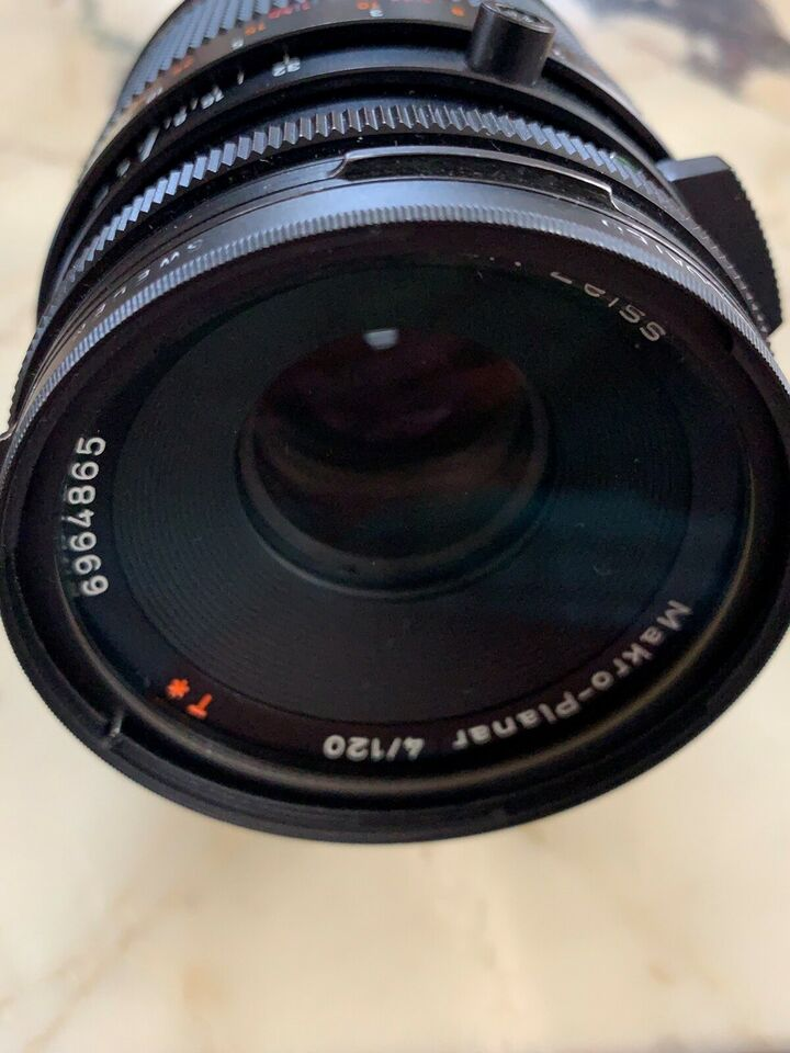 Hasselblad, Carl Zeiss Makro -Planar CF 120mm 4.0 T* Black ,