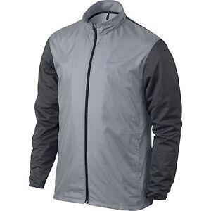 8b58b5a4246de Men's Nike Golf Full Zip Shield Jacket Outerwear Wolf Grey 726401 ...