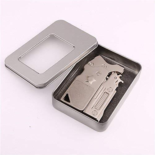 Classico Pieghevole 6 Scoppia Elastico Pistola Semi-Automatico Portatile Lega di