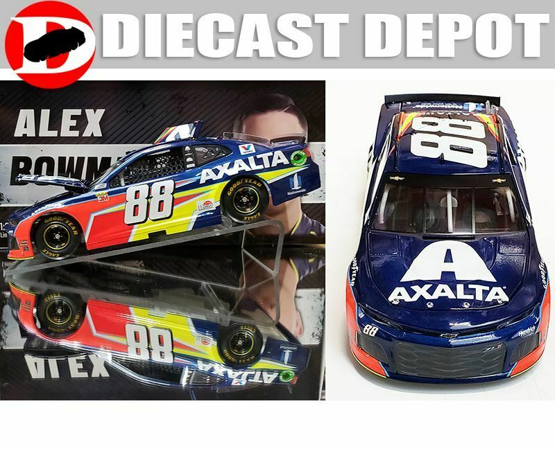 ALEX BOWMAN 2019 AXALTA CAMARO 1 24 ACTION COLLECTOR SERIES ALEX BOWMAN 2019