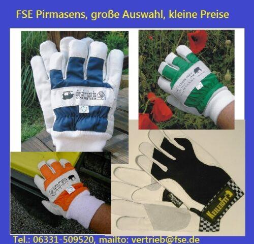 Auswahl 4 x  Keiler-Forst Handschuhe 10,5 4 verschiedene Modelle Gr