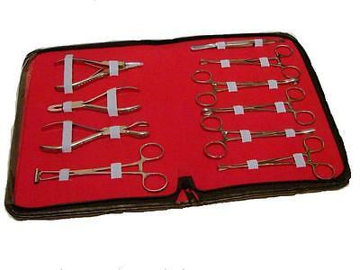 10 Teile pro Körper Ohr Zunge Nabel Piercing Pinzette Zange Klemmen Werkzeuge