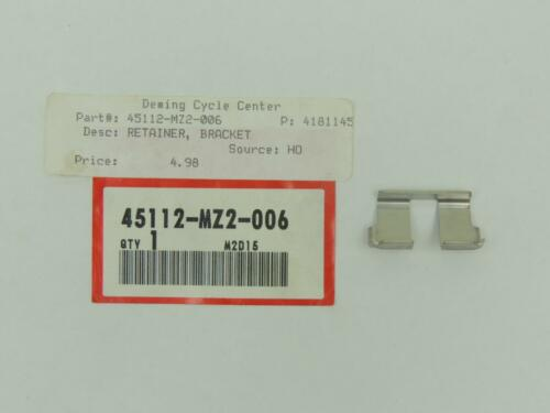 45112-MZ2-006 NOS Honda Retainer Bracket GL1800 CBR1000F ST1100A ST1300A Y926g