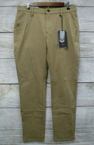 Levi/'s 511 Trouser Pants Mens 30X30 Beige Performance Slim Taper Stretch New