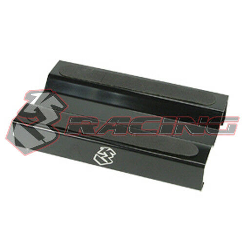 ST-11//BL Aluminium Setting Stand for 1//10 EP GP 3RACING Black