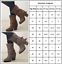 Ladies Women Over-the-Knee Riding Boots Chunky Block Heel Mid Calf Winter Shoes