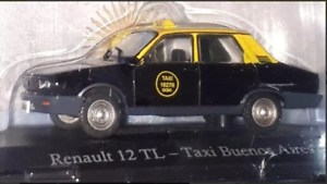 renault-12-TL-Argentina-Taxi-1994-Taxi-Collection-Rare-Diecast-1-43
