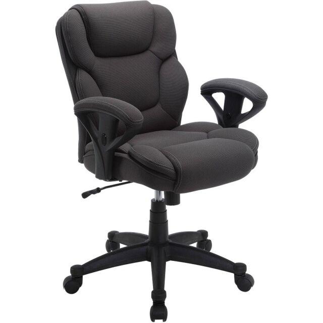 Surprising Serta 48332 Office Chair Grey Alphanode Cool Chair Designs And Ideas Alphanodeonline