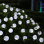 thumbnail 10 - 21FT-Outdoor-String-Lights-30-LED-Solar-Bulb-Patio-Party-Yard-Garden-Wedding-Lot