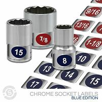 Organize And Tag Impact Sockets - Chrome Socket Set Labels Buy 1 Get 2 Free Deal