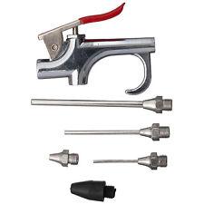 5PCS Air Compressor Blow Kit Nozzles Inflation Needle Spray Blower Gun Tool NEW