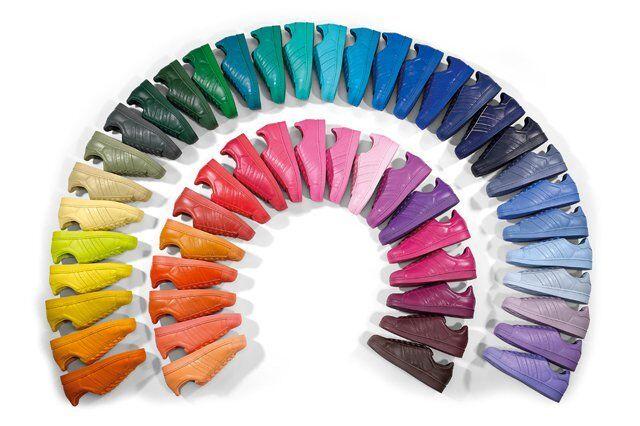 ADIDAS Supercolour Vivid Vivid Vivid Nuovo di zecca Pharrell RIDOTTO!!! 585d2f