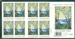 US-4165-41c-TIFFANY-booklet-of-20-P-1111-ISSUED-AUG-9-2007-complete-MNH