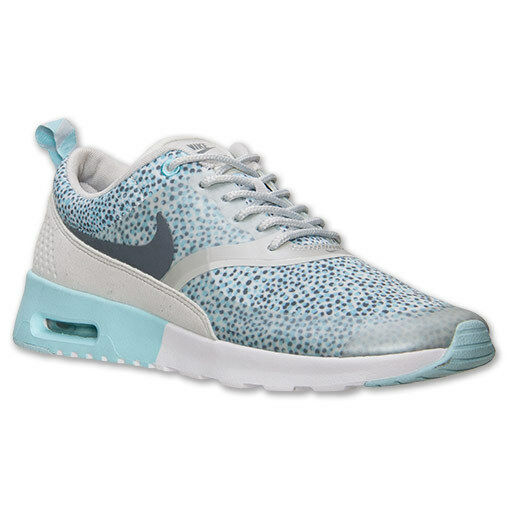 AUTHENTIC NIKE Air Max Thea Print Light Grey Cool Grey Blue Women Price reduction
