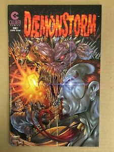 DAEMONSTORM-1-NM-TODD-McFARLANE-Cover-1997-Caliber-Press-Low-Print-Run-SPAWN