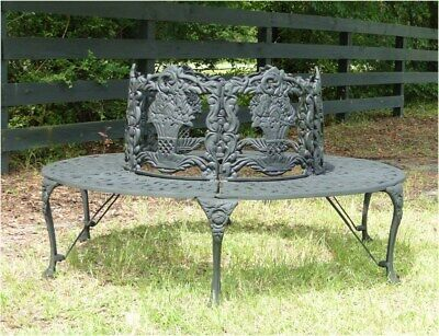 Astounding Victorian Tree Surround Vintage Replica Garden Furniture Old Style Outdoor Bench Ebay Ncnpc Chair Design For Home Ncnpcorg