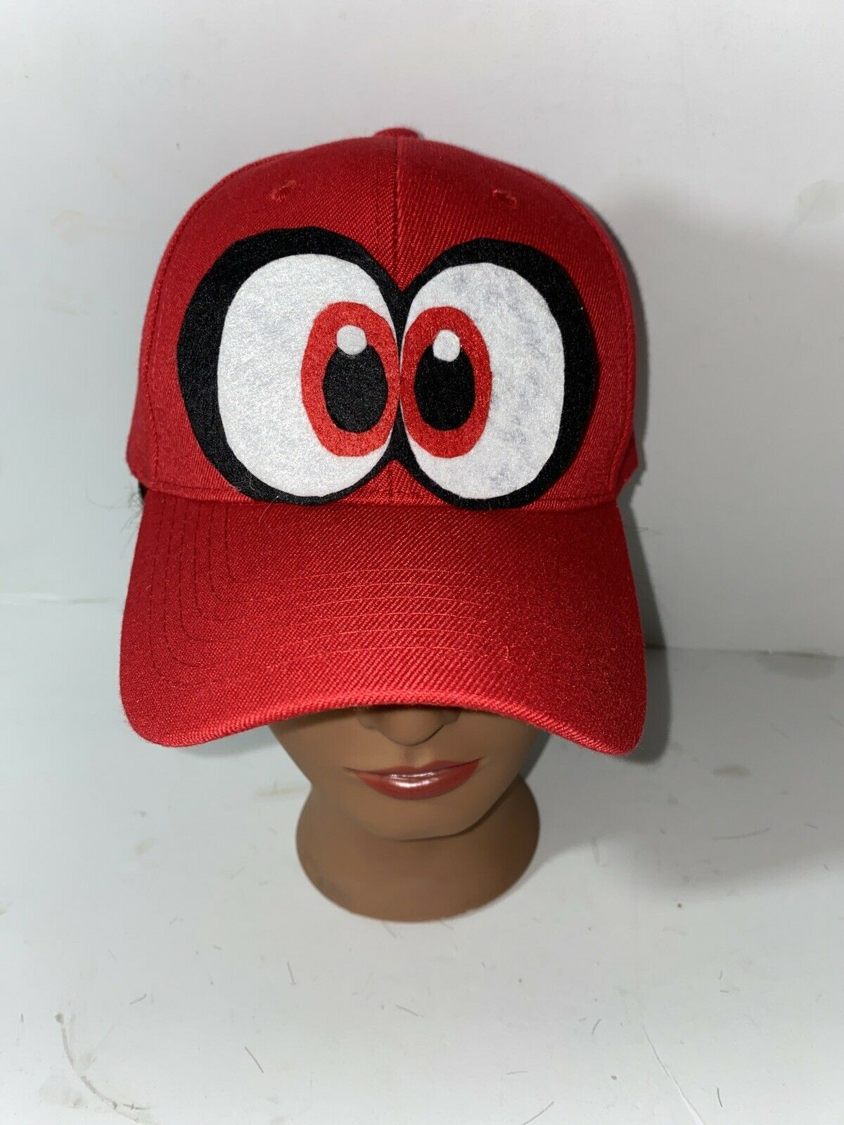 Super Mario Odyssey Cosplay Hat Cappy Cap With Eyes Officially Licensed Nintendo For Sale Online Ebay