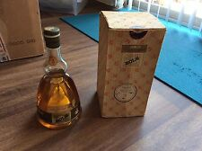 Vintage Lucas Bols Ballerina Gold Creme de Menthe Liquor Music Box 18 oz A 1575