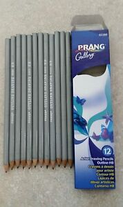 Prang Gallery Artist Outline Pencils HB Box of 12 Pencils New