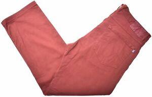 NORTH-SAILS-Mens-Trousers-W34-L28-Brown-Cotton-GM07