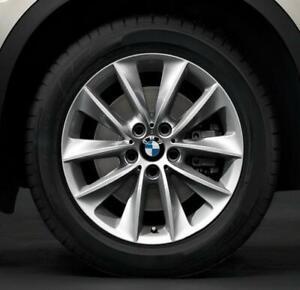 4-Orig-BMW-Sommerraeder-Styling-307-245-50-R18-104W-X3-F25-X4-70dB-Neu-BMW-264