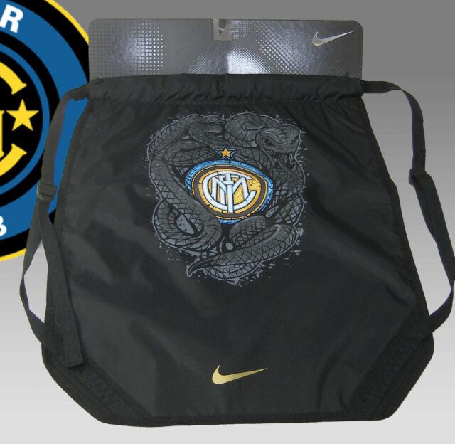 Milan Paquets Nike À Noir Sac Dos Arrière Cordon Inter Football WI9H2ED