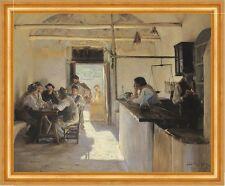 Osteria in Ravello. Peder Severin Kroyer locanda locanda Italia B a3 03063
