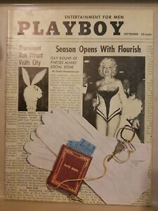 Playboy-September-1955-Very-Good-Condition-Free-Shipping-USA
