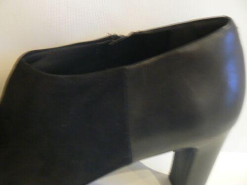 7 scamosciata 7 Scarpa 5 pelle Wide taglia Marks 8 nera in Spencer Fit 8Aq0RU0