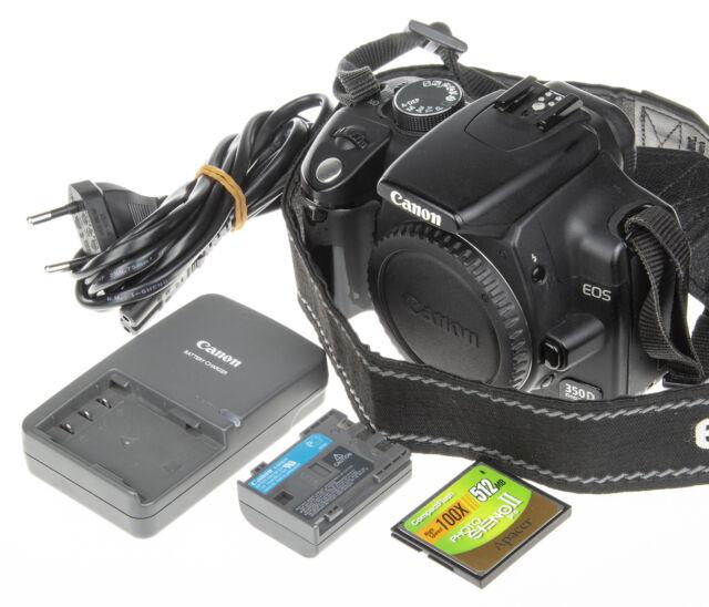 Canon EOS Digital Rebel XT / EOS 350D 8 0MP Digital SLR Camera (Body Only)
