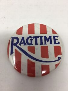Vintage-Ragtime-Promo-Movie-Advertising-Pinback-Button-Starring-James-Cagney