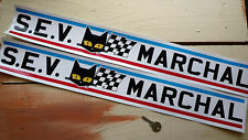 """SEV Marchal Car STICKERS 25"""" Pair GT40 Renault Rally LeMans Rally Racing Sports"""