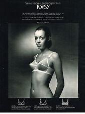 PUBLICITE ADVERTISING  1970   ROSY   soutien gorge SEINS NACRES