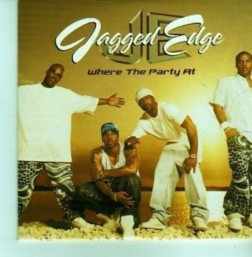 (CX964) Jagged Edge, Where The Party At - 2001 DJ CD