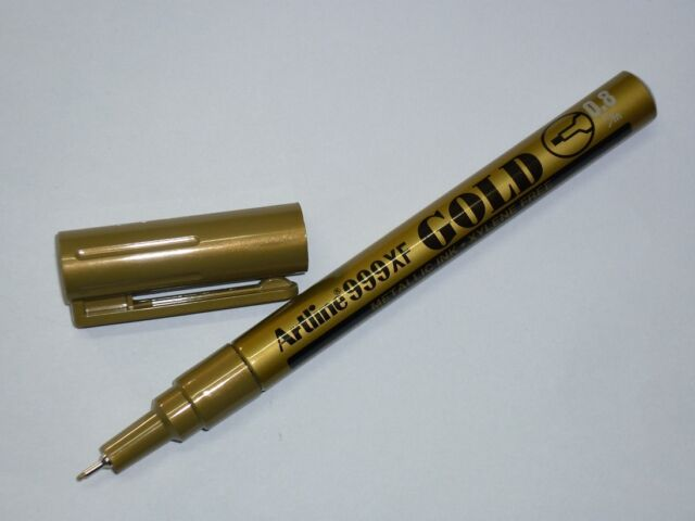 PROMO Artline 999XF EK-999XF Metallic ink marker Fine 0.8mm Gold Artline 999