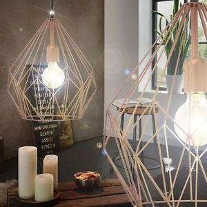 vintage pendel h nge lampe nostalgie industrie design wohnzimmer fabrik leuchte 9002759492588 ebay. Black Bedroom Furniture Sets. Home Design Ideas