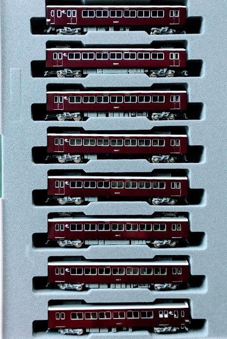 Kato N Scale 10-1436 Hankyu ventana pequeña serie 6300 Conjunto de 8 coches